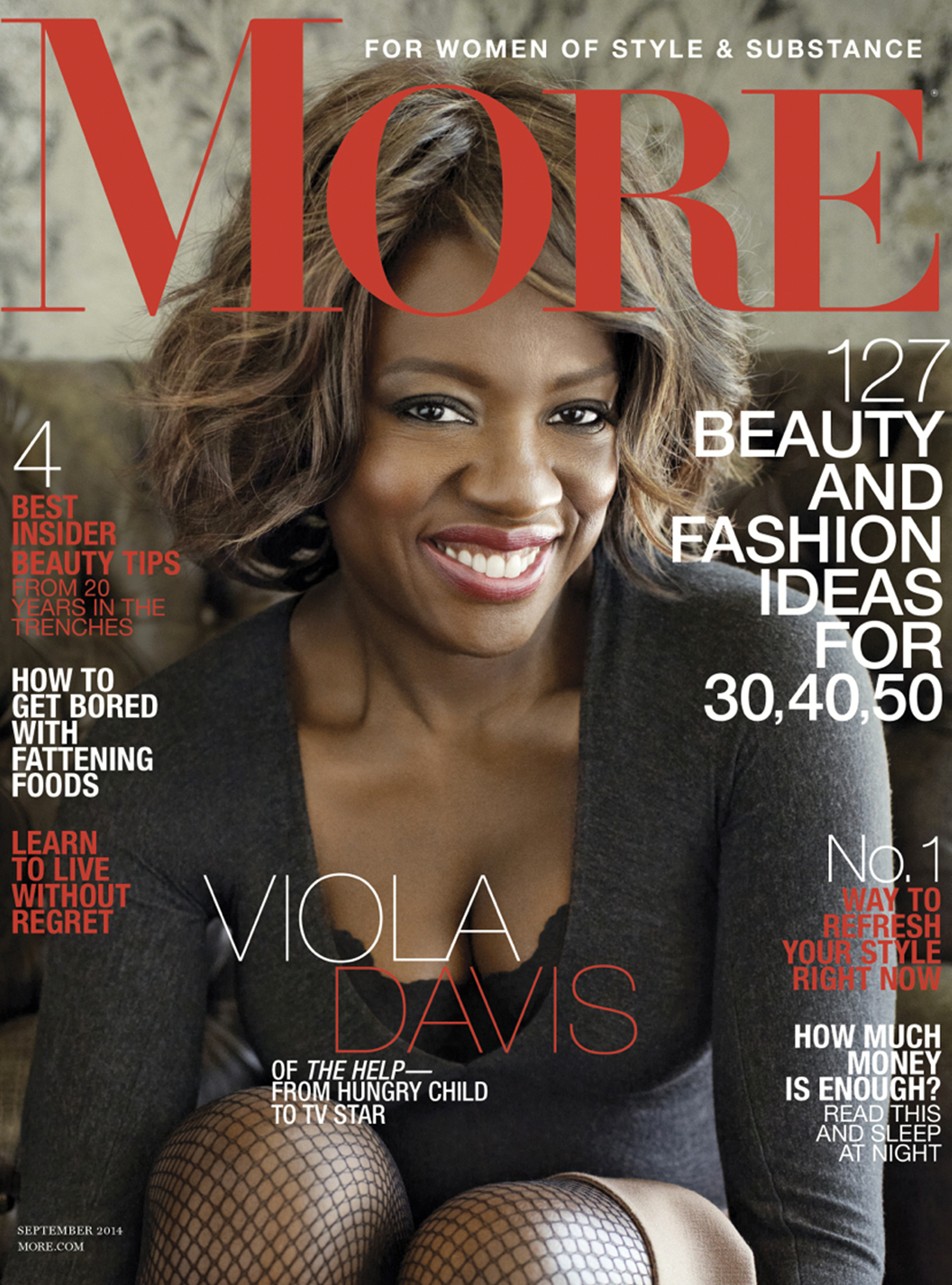 Makeup Artist Tia Dantzler and Viola Davis Editorial